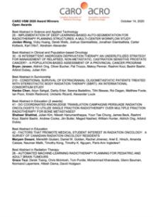 CARO-VSM-2020-Award-Winners
